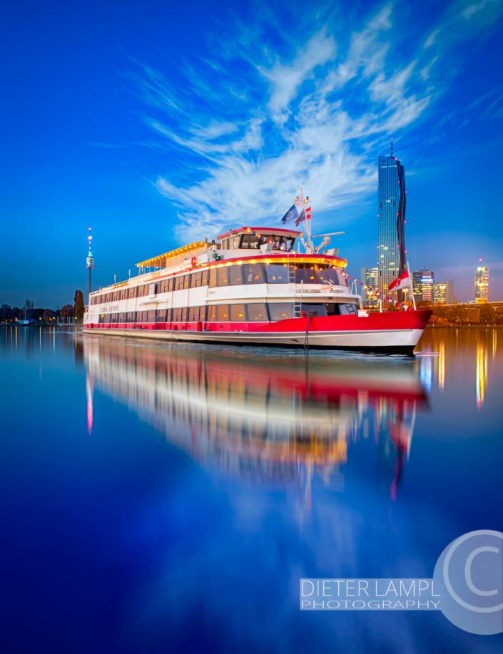 Werbefotografie für Schiffe: DDSG
