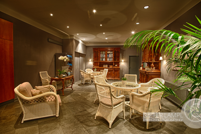 Architekturfotografie für Restaurants: Barockzimmer Marina Restaurant in Wien