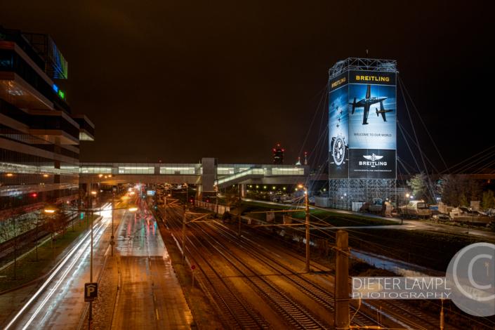 Werbefotografie im Großformat: Breitling @ SPIDER ROCK XL