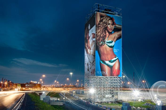 Werbefotografie im Großformat: H&M @ SPIDER ROCK XL