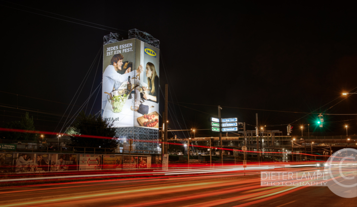 Werbefotografie im Großformat: IKEA @ SPIDER ROCK XL