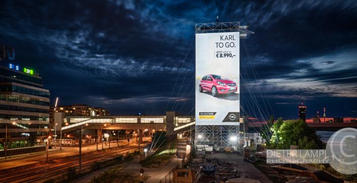 Werbefotografie im Großformat: Opel Karl @ SPIDER ROCK XL