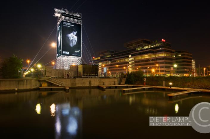 Werbefotografie im Großformat: PayLife @ SPIDER ROCK XL