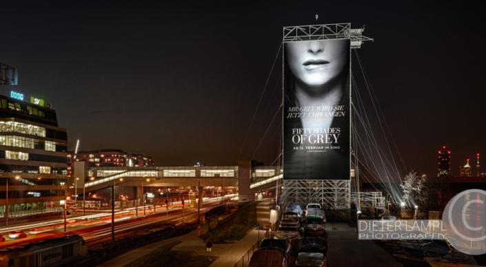 Werbefotografie im Großformat: Universal Pictures 50 Shades of Grey @ SPIDER ROCK XL
