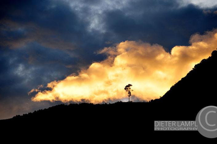 Naturfotografie von Landschaften: San Juan La Laguna Guatemala