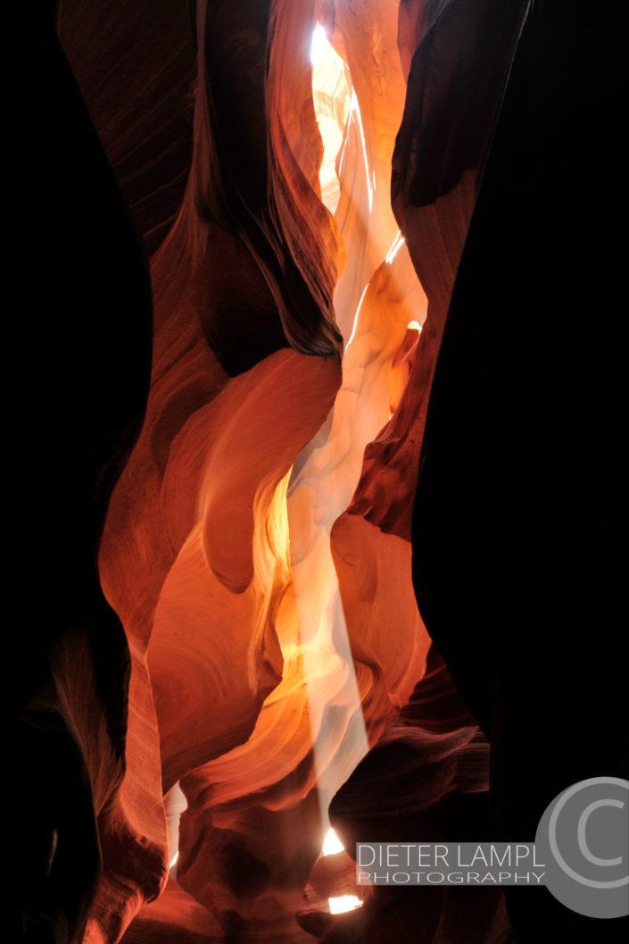 Naturfotografie von Landschaften: Antelope Canyon USA